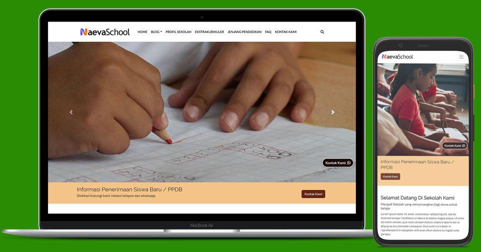 Membuat Website Sekolah di Era Digital